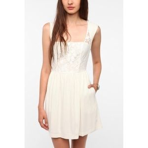 Urban Outfitters Cooperative Lace Overlay Dress